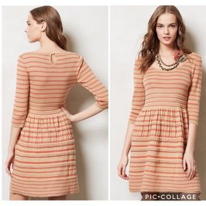 """Knitted & Knotted """"Elodie"""" Striped Sweater Dress"""
